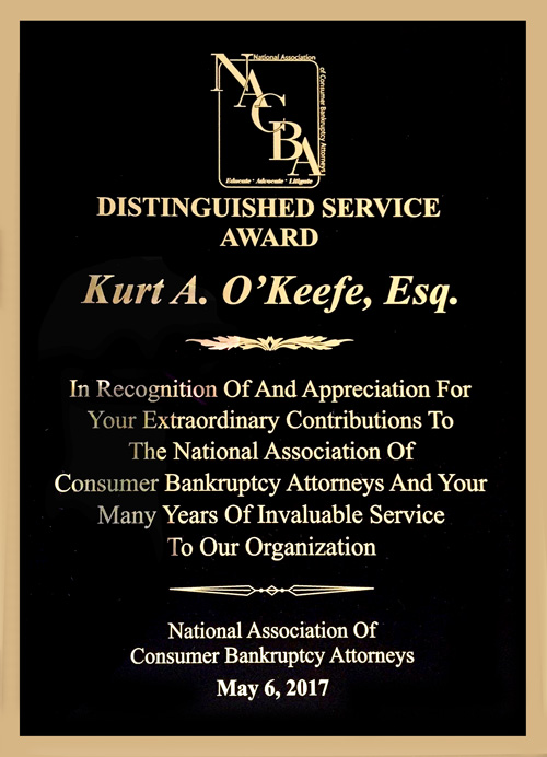 NACBA Distinguished Service Award